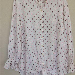 GAP maternity long sleeved blouse